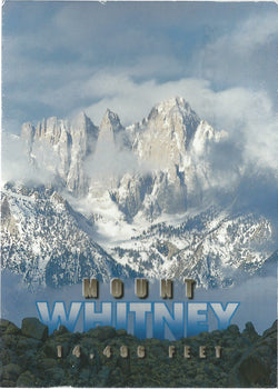 5X7 Mt. Whitney Postcard