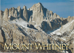 5X7 Mt. Whitney Peak Postcard
