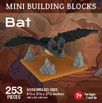 Mini Building Block Bat