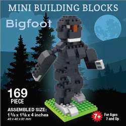 Mini Building Block Bigfoot