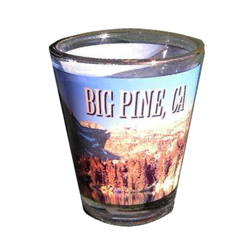 Big Pine Shot Glass