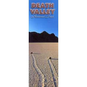 Death Valley Desert Tracks Bookmark