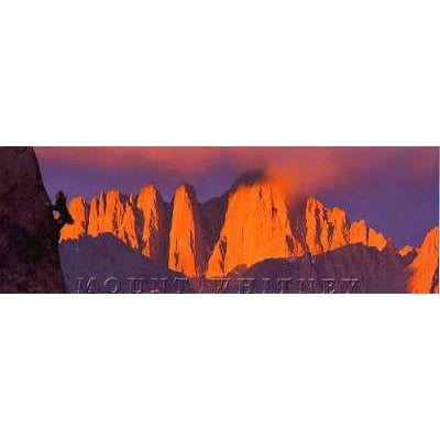 Mt. Whitney Bookmark