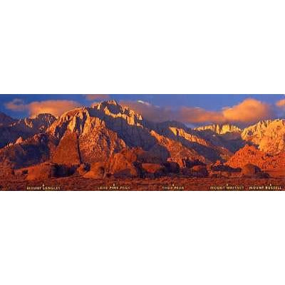 Mt. Whitney Range Bookmark