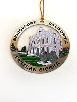 Bridgeport Metal Courthouse Ornament