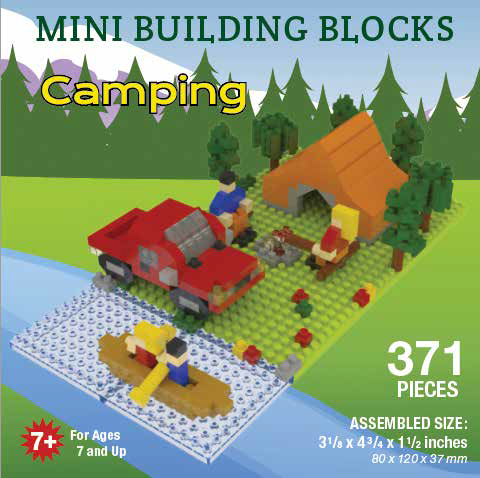 Mini Building Block Camping