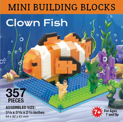 Mini Building Block Clown Fish
