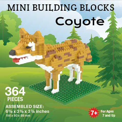 Mini Building Block Coyote