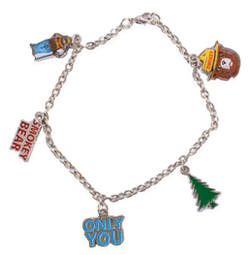Smokey Dangle Bracelet