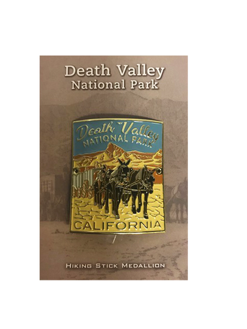 Death Valley Hiking Medallion