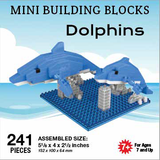 Mini Building Blocks Dolphins