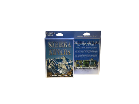 Sierra Nevada Mount Whitney Playing Cards