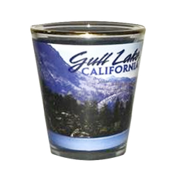 Gull Lake Shot Glass