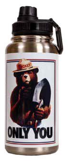 Smokey ONLY YOU insulated stainless steel water bottle