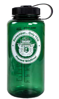 Smokey REMEMBER Logo Plastic Water Bottle