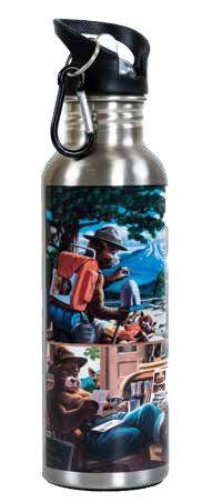 Smokey NOSTALGIC Stainless Steel Water Bottle