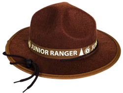 Junior Ranger Ranger Hat