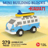 Mini Building Block Bus and Surfboard