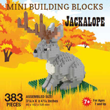Mini Building Block Jackalope