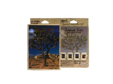 Joshua Tree National Park Playinig Cards