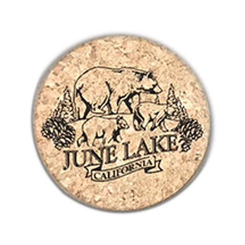 June Lake Bears Coaster