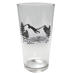 June Lake Clear Pint Glass