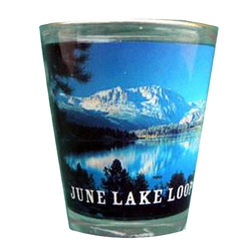 June Lake Loop Shot Glass