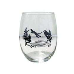 June Lake Wine Glass