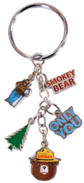 Smokey Dangle Keychain