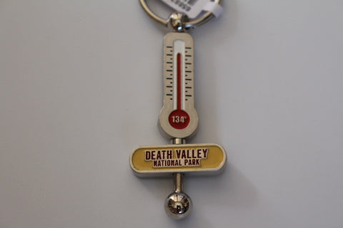 Death Valley Thermometer Key Chain