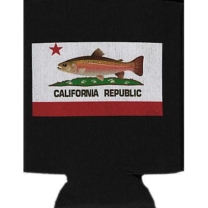 California State Fish Can Koozie