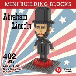 Mini Building Block Abraham Lincoln