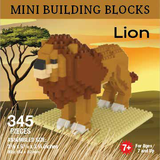 Mini Building Block Lion