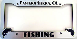 Eastern Sierra Fishing License Plate