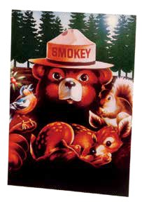 Smokey ANIMAL FRIENDS Magnet-QTY=10