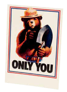 Smokey ONLY YOU Magnet-QTY=10