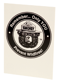 Smokey REMEMBER Logo Magnet