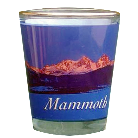 Mammoth Mountain Shot Glass