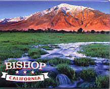 Bishop CA Scenery Magnet