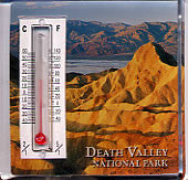 Death Valley Thermometer Magnet