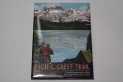 Pacific Crest Trail Retro Magnet