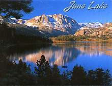 June Lake Magnet