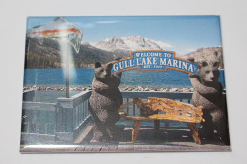 Gull Lake Marina Magnet