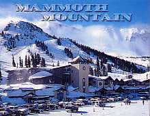 Mammoth Mountain Winter Magnet