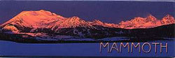 Mammoth Sunset Magnet