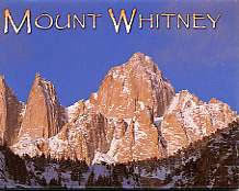 Mt. Whitney Peak Magnet