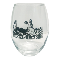Mono Lake Stemless Wine Glass