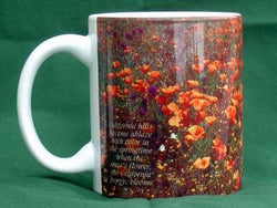 California Flowers Mug