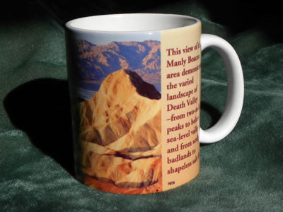 Death Valley Mountains Mug
