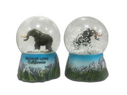 Woolly Mammoth Snow Globe